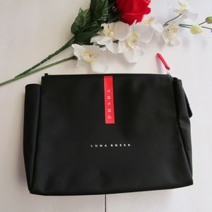 eb90ee54d10c8f PRADA Luna Rossa Cosmetic Toiletry or Travel Bag
